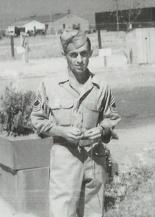 Master Sgt. Lauby in Blythe, California, c. 1943
