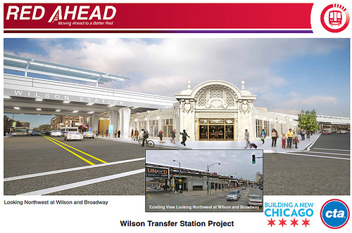 CTA rendering of the renovated Gerber Building.