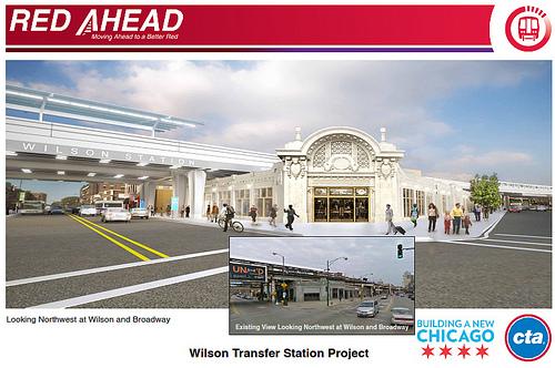 CTA rendering of the renovated Gerber Building.