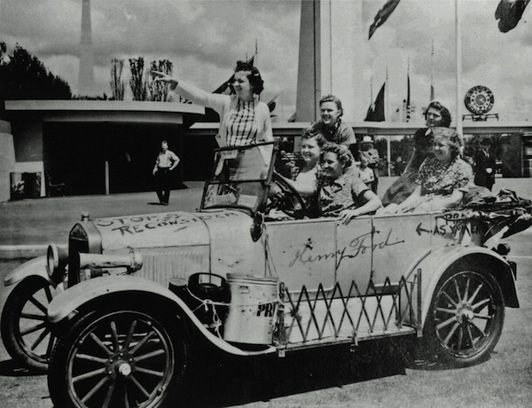 The Gypsy Coeds at the 1939 World's Fair in New York.