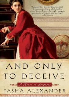 Tasha Alexander's first Lady Emily book. Image courtesy of the author's website.