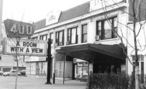 Theater exterior, fall 1986. Image from New 400 website.