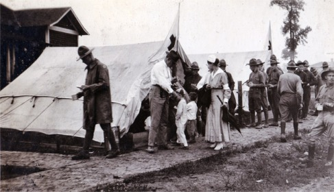 """""""American Red Cross Canteen at Elaine (Philips County); October 1919."""" Courtesy of Pat Rowe."""