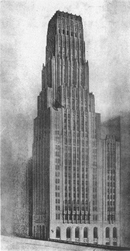 eliel_saarinen_tribune_tower_design_1922