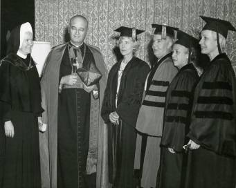 1964_Commencement Virginia Woods